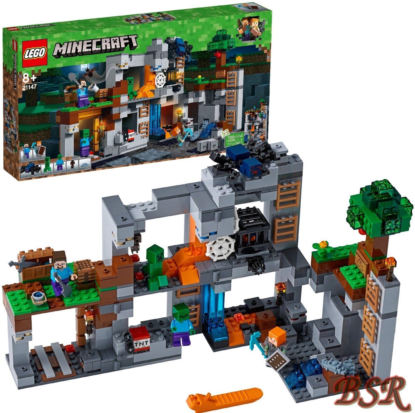 LEGO ® Minecraft  21147 aventures dans les rochers 0. - expédition & NOUVEAU & NEUF dans sa boîte