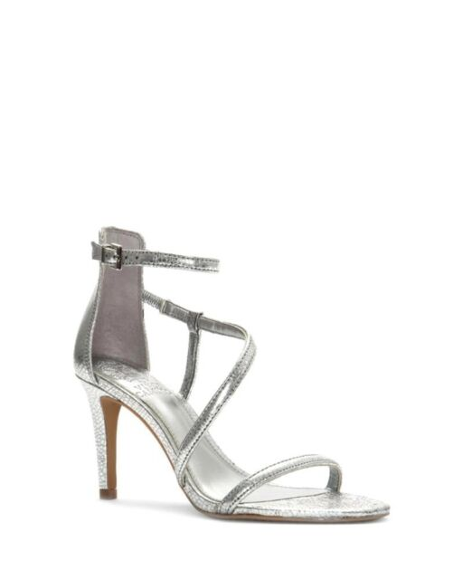 Vince Camuto Careleen Silver Leather