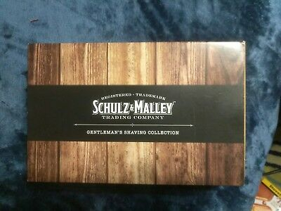 Health & Beauty 100% True Schulz & Malley Trading Company Gentlemen's Shaving Collection Nib Refreshing And Beneficial To The Eyes