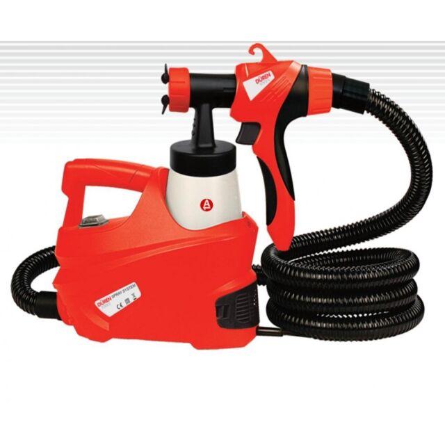 240V Electric Turbine Paint Sprayer HVLP Spray Gun 700ML Emulsion Gloss 321240