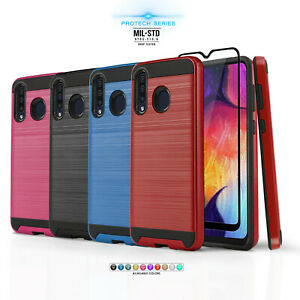 For Samsung Galaxy A20 A30 Protech Series Phone Case Brushed Slim Cover Ebay