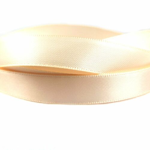 Double Satin Ribbon Full 100 Yard Rolls 100/% Polyester 25mm Widths Of 3mm