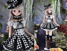 1/3 bjd dollfie dream doll DDL/DDMDDS outfits dress set with hat ship US