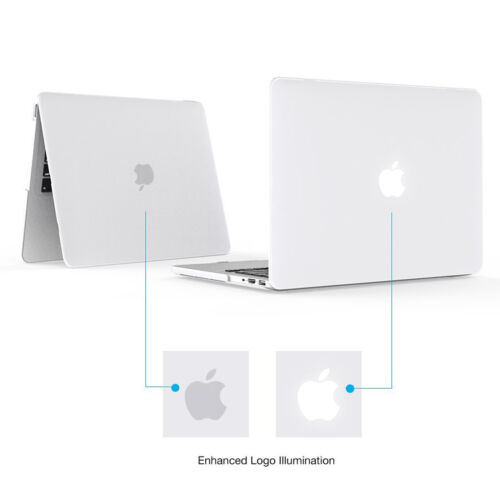 Smart Transparent Plastic Hard Case for Macbook Pro 13inch A1706 with Touch Bar
