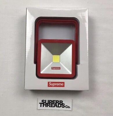 SUPREME Magnetic Kickstand Light Red box logo camp cap F//W 18