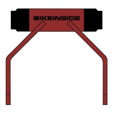 Bikeinside extender 15//110mm eje delantero bicicleta portador sistema de transporte para coche auto