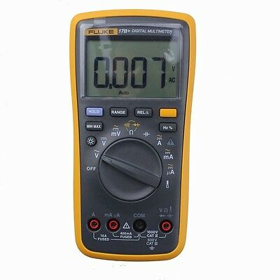 FLUKE 17B+ F17B+ Digital Multimeter Tester with TL75 test Leads Free shipping