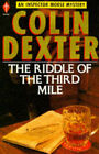 The Riddle of the Third Mile by Colin Dexter (Paperback, 1984)