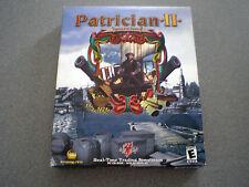 Patrician II: Quest for Power  WIN 9x/2000/Me  NIB  Big Box