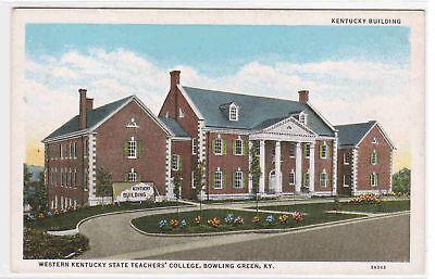 Postcard KY Bowling Green Western Kentucky State Teachers