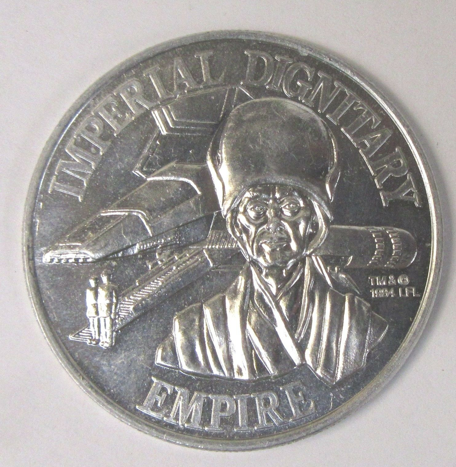 Kenner STAR WARS coin IMPERIAL DIGNITARY 1984 POTF