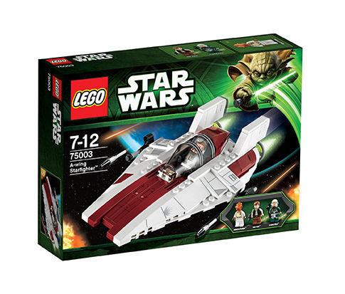 Lego Star Wars A-Wing Starfighter Starfighter Starfighter (75003) BOX ouvert (open box) b14e43