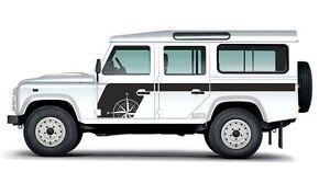 Land Rover Defender 110 Aftermarket Compass Decal Sticker