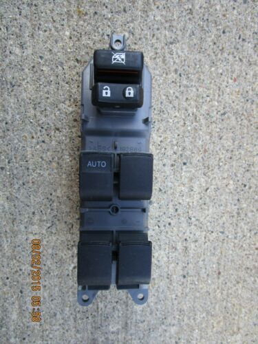 12-14 TOYOTA CAMRY LE SE XLE HYBRID DRIVER LEFT SIDE MASTER POWER WINDOW SWITCH