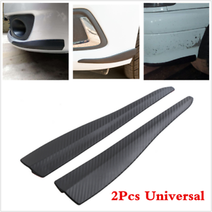 Car Carbon Fiber Anti-rub Strip Bumper Body Corner Mirror Protector Anti-scratch