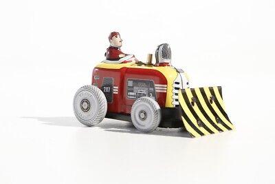 Baufahrzeuge & Traktoren Blechspielzeug Kleiner Bulldozer °° Tin Toy °° Jouet En Tôle °° GläNzend Motiviert Spielzeug