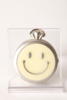 66185 Sales Of Quality Assurance Original Pocket Watch Smiley 24119 9s60-00 Lid With Feather 1 3/8in