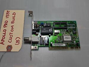 Apollo-Pro-133T-Cust-B-D-Link-10Mbps-BNC-Ethernet-Network-PCI-Card-NIC-DE-528