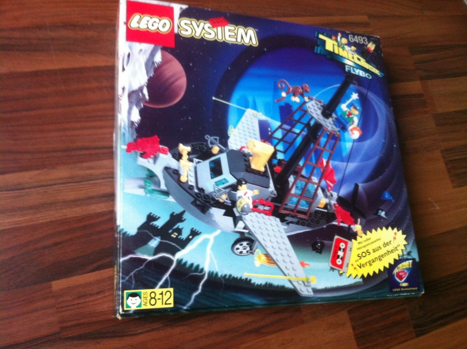 LEGO 6493, Flying Time Vessel, NEU +UNGEÖFFNET+ RARITÄT