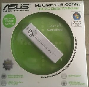 ASUS MYCINEMA U3100MINI ATSC VIDEO CAPTURE DRIVER PC