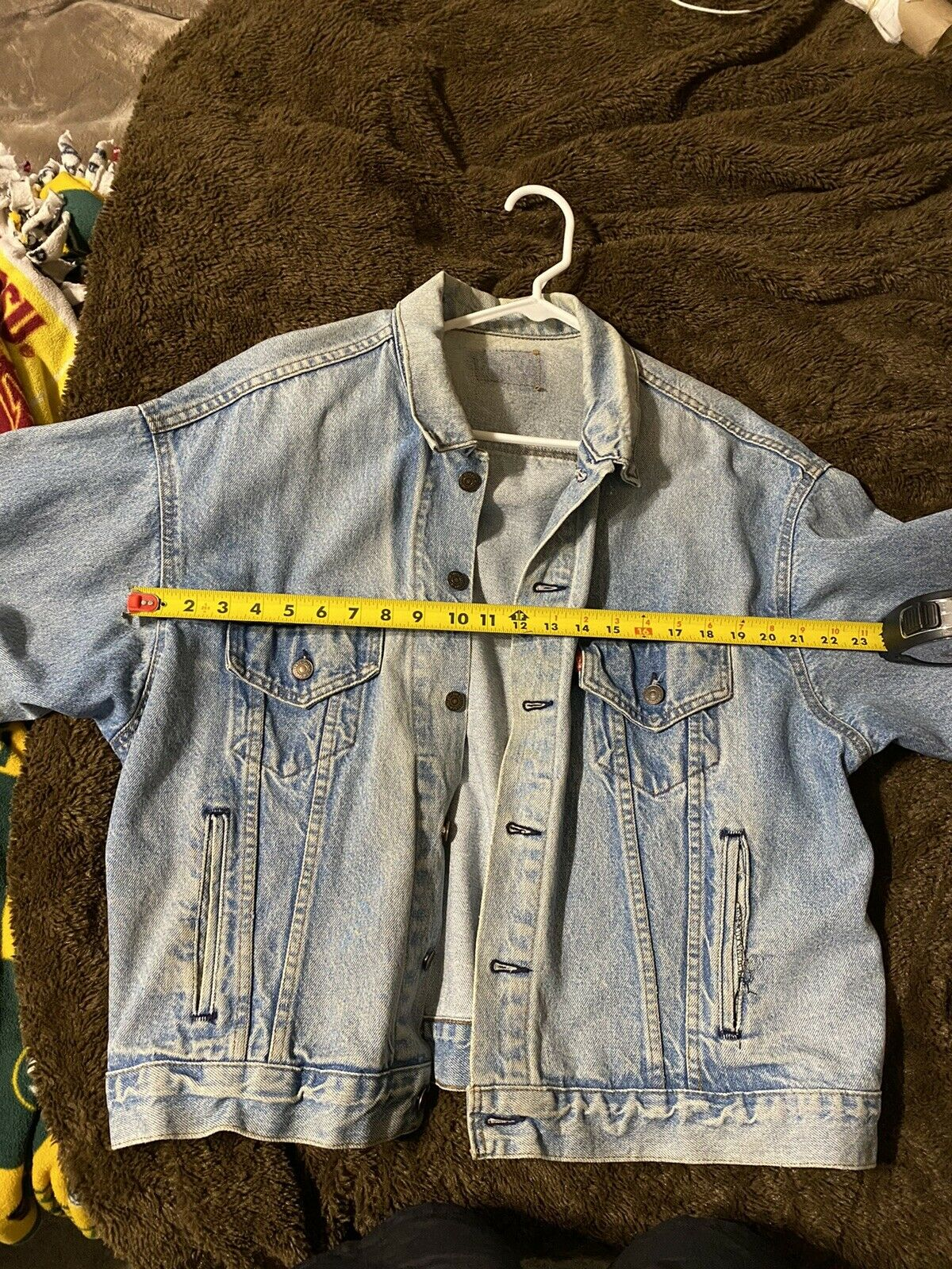 levis denim jacket made in usa - image 11