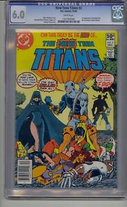 NEW-TEEN-TITANS-2-CGC-6-0-WHITE-PAGES-1ST-DEATHSTROKE-HTF-NEWSSTAND-UPC-VARIANT