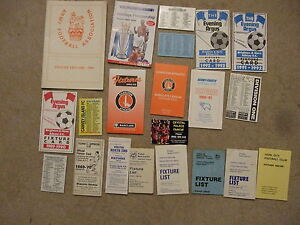 fixture card birmingham 19867 - Benfleet, United Kingdom - fixture card birmingham 19867 - Benfleet, United Kingdom