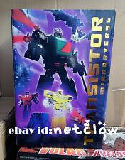 Transformers KFC Toys Masterpiece Proportion Blaster Mirror Transistor in Stock