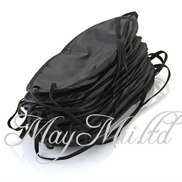 New Hot 10 Pcs Eye Mask Shade Cover Blinder Blindfold For Travel Sleeping OV