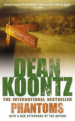 Phantoms by Dean Koontz, Paperback Book, Acceptable, FREE & Fast Delivery