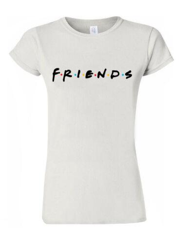 Friends T Shirt Fashion Top Comedy Tv Series Rachel Ross Monica Joey Tee M789