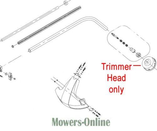 Mitox 25C-SP 250CX Trimmer Head MI06.06.753 Grass Strimmer Cutter Line