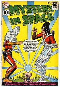 MYSTERY-IN-SPACE-71-VG-Adam-Strange-Last-10-issue-DC-Comics-1961