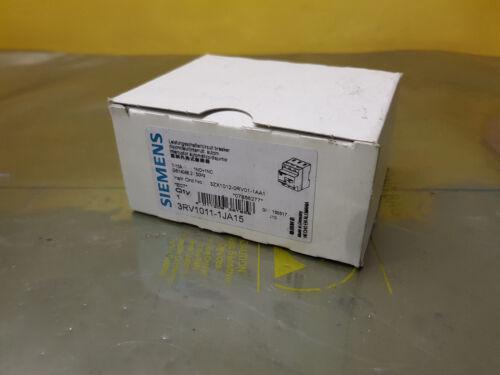 Siemens 3rv1011-1ja15 rendimiento interruptor sin usar.