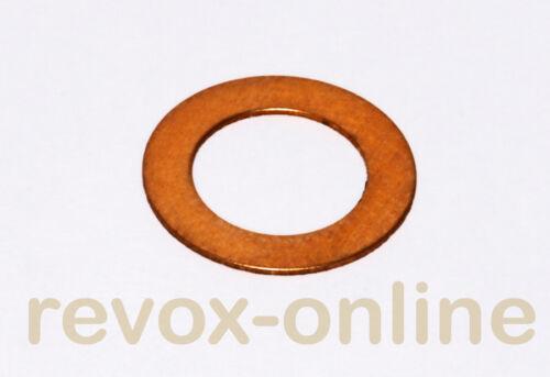 Copper washer for pinch roller B77 Kupferscheibe für Andruckrolle Revox B77