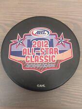 2012 AHL All-Star Classic Game Souvenir Hockey Puck Atlantic City New Jersey