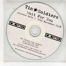 (FU481) Tin Soldiers, Wait For You - 2008 DJ CD