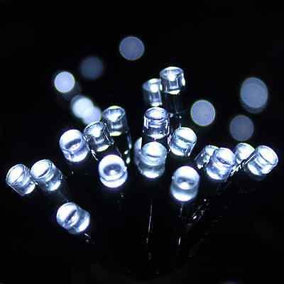 Candido 105 Led Luce All'aperto Netto Bianca Luminosa Ad Alimentazione Solare Per Giardino Fairy Stringa Effetto- Saldi Estivi Speciali