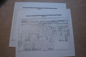 image is loading freightliner-century-columbia-basic-wiring-diagrams-detroit -diesel-