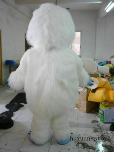 Snowman Mascot Costume Suits Cosplay Party Outfit Carnival Halloween Xmas Adult
