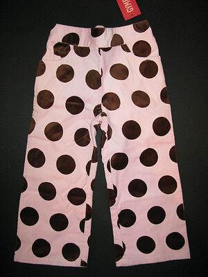 NWT Gymboree Cupcake Cutie Polka Dot Corduroy Pants 6-12 Months Baby Girl