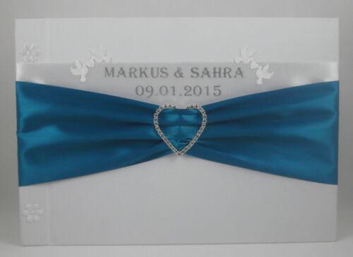 Gästebuch Hochzeit Hochzeitsgästebuch Gästealbum in vielen Farben