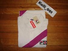 Supreme Fila Polo Size XL White Box Tee CDG OG Kate Moss 2007 KERMIT Black B