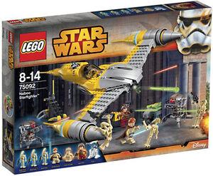 LEGO-Star-Wars-75092-Naboo-Starfighter-Set-New-In-Box-Sealed-75092