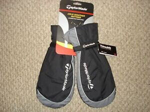 NWT-TaylorMade-Cold-Weather-Mittens-Thinsulate-Insulation-100G