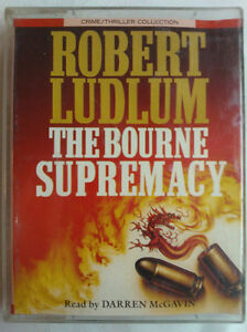 ROBERT-LUDLUM-THE-BOURNE-SUPREMACY-READ-DARREN-McGAVIN-2-X-TAPE-ABRIDGED-3-HRS