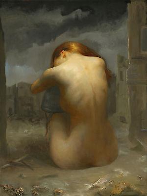 6 x 8 Art Nude Juliette Ceramic Mural Backsplash Bath Tile #2152