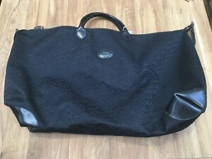 fcd50a9ad7 Image is loading Travel-bag-longchamps-monograme