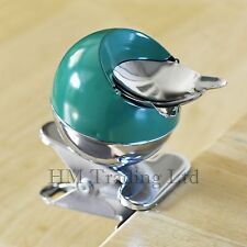 Metal Table Desk Clip Ashtray Clip-On Railing Cigarette Ash Bin Garden Party