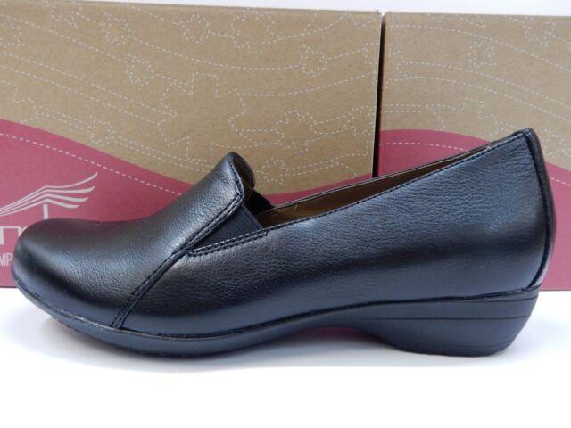 051d161467d Dansko Womens Farah Milled Nappa Black Size EU 37 for sale online